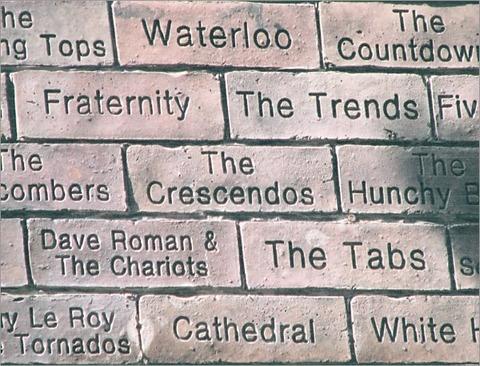 Crescendos cavern wall