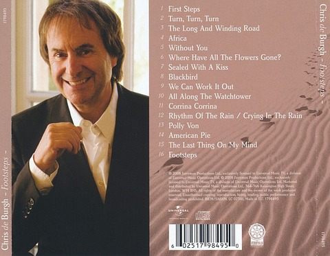 Chris de Burgh - 1798495 back