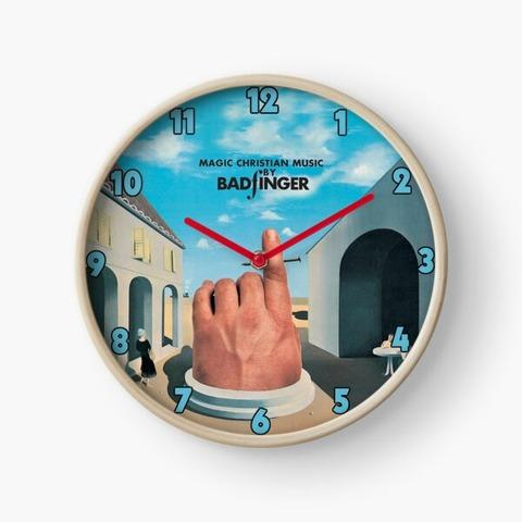 Magic Christian Music Clock