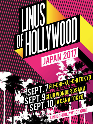 Linus of Hollywood Japan Tour 2017 en