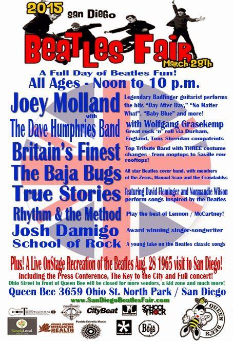 2015 San Diego Beatles Fair