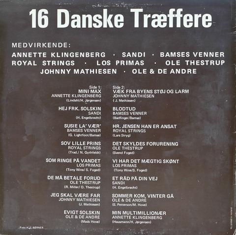 Bamses Venner - 16 Danske Træffere back