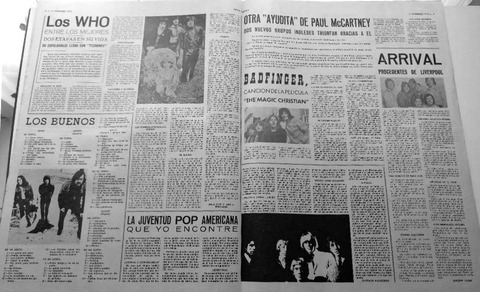 Disco Expres #58 (Feb 15, 1970) Badfinger