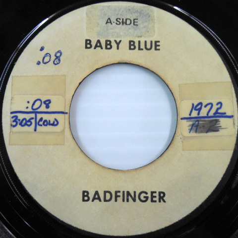 Badfinger - Baby Blue  Flying US White Label test a