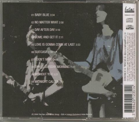 bjm CD 2004 Indie Records Best of Badfinger back