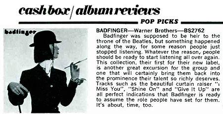 CB19740223 album reviews badfinger