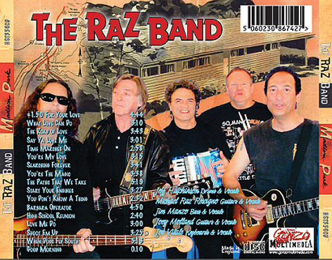 The Raz Band - Madison Park back
