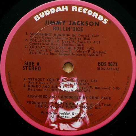 Jimmy Jackson - BDS 5671 r