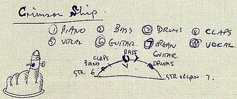 Crimson Ship mixing notes Paul McCartney