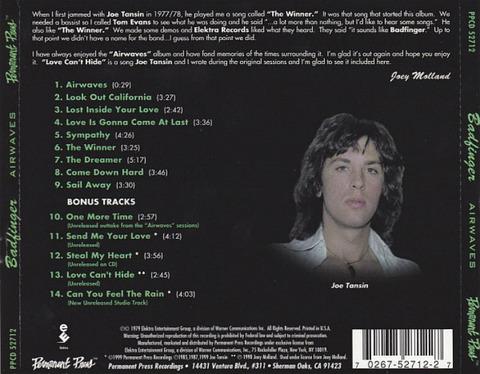 Badfinger - Airwaves 1999 b