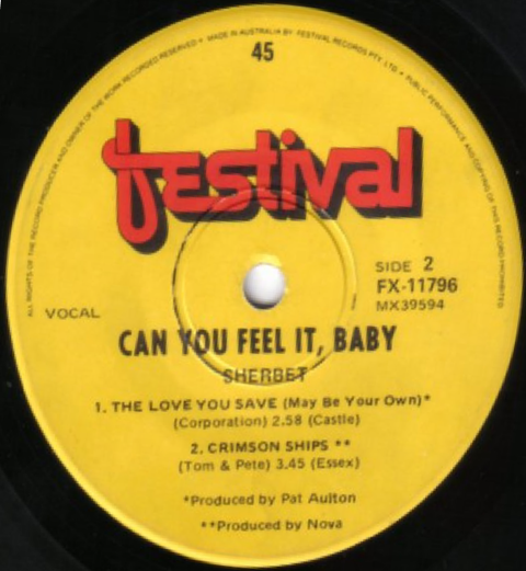 Sherbet - Can You Feel It EP (1971)