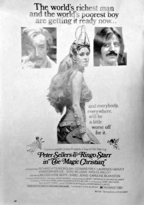 The Magic Christian 1969 Promo Program Pressbook p8