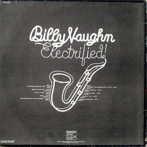 Billy Vaughn PAS 1033 back