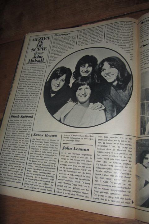 Muziek Parade #167 Feb 1971 Badfinger