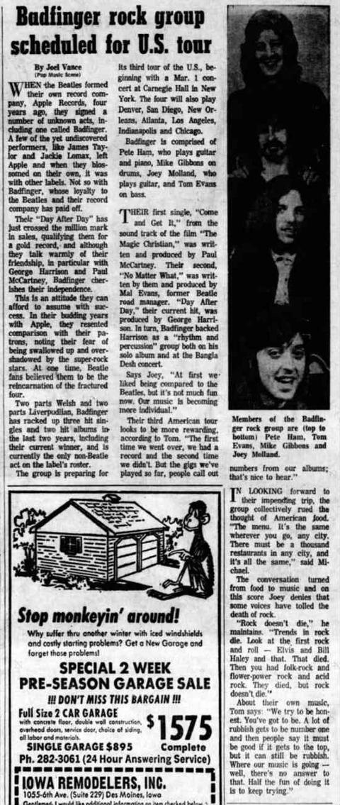 The Des Moines Register (Feb 27, 1972)