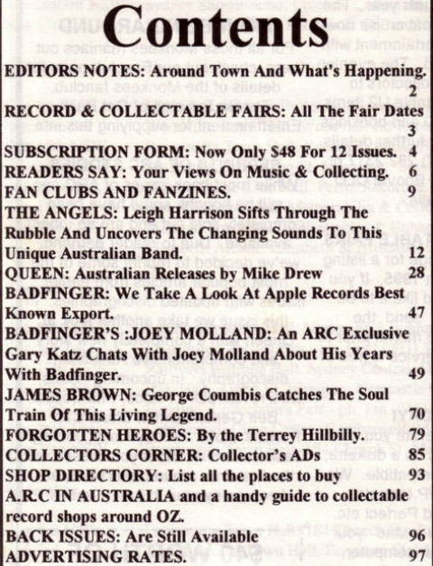 Australian Record Collector #18 (September-October 1995) c