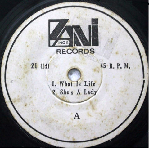 Zani Inox Records ZI 1141 EP r1