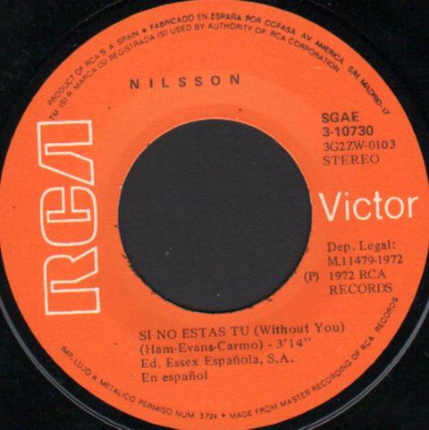 Nilsson - Si no estas tu (1971) r