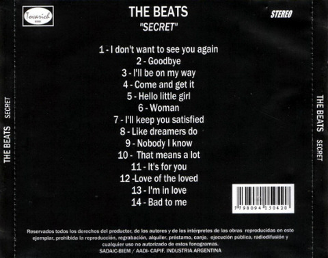 The Beats - Secret back