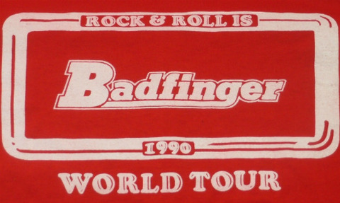 Badfinger 1990 Original Tour T-Shirt back2