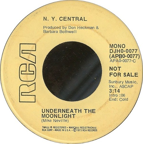Central - Underneath The Moonlight (1973)