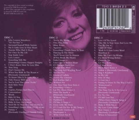 Cilla Black - The Best of 1963-1978 (2003) back