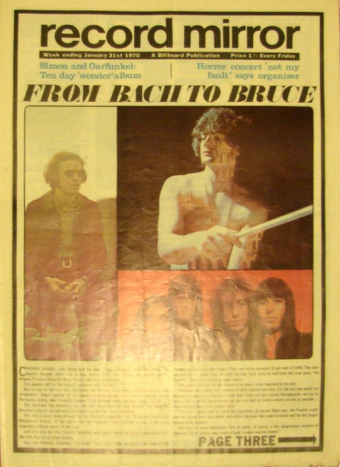 Record Mirror (January 31, 1970) cover