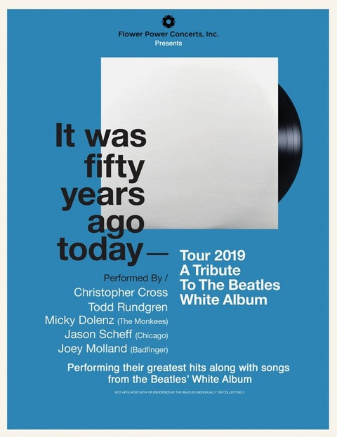 It Was Fifty Years Ago Today - Tour 2019