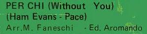 Nicola Di Bari Ham Evans - Pace