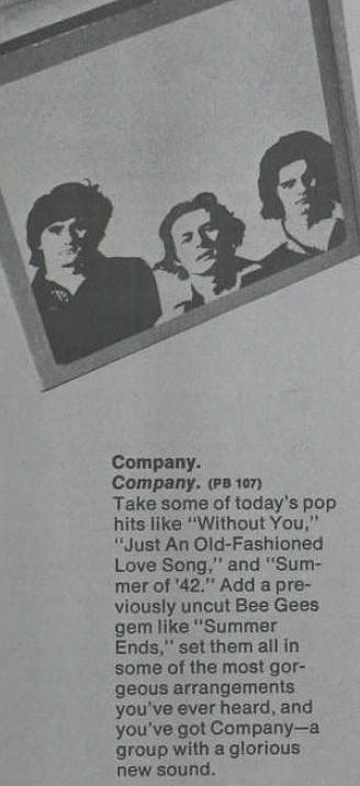 Company  ad Billboard Apr 29 1972