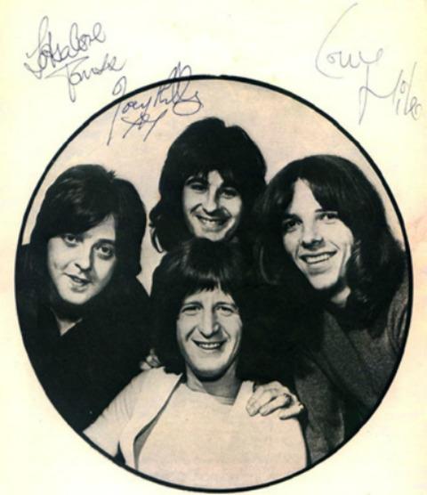 Pitney tour 1970 Tom, Joey, Mike
