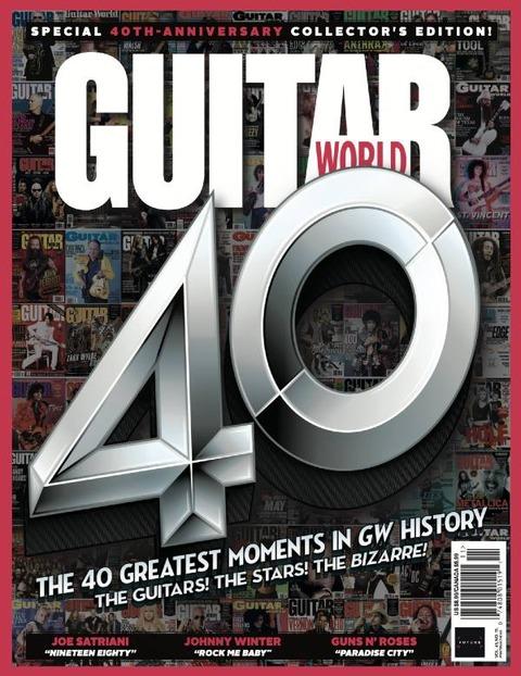 Guitar World November 2020 cover