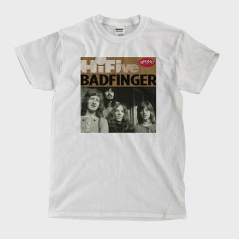 Badfinger Hi Five White T-shirt