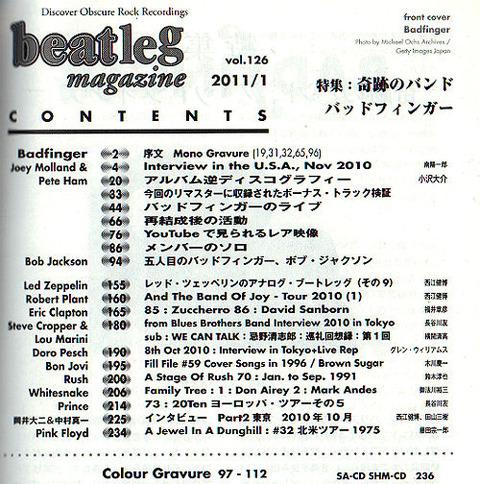 beatleg (Jan 2011) a