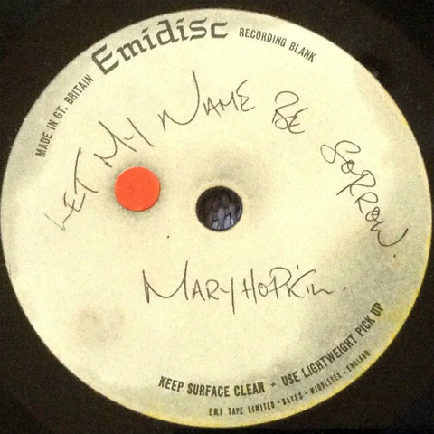 Apple Records Acetate mh1
