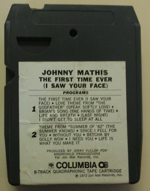 Johnny Mathis - CAQ 31342 back