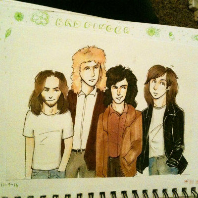 Badfinger by artbysomethingpeppy