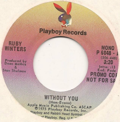Ruby Winters - Without You 1975