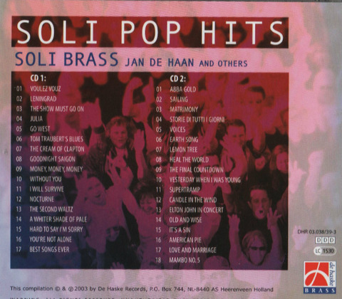 Jan de Haan - Soli Pop Hits back