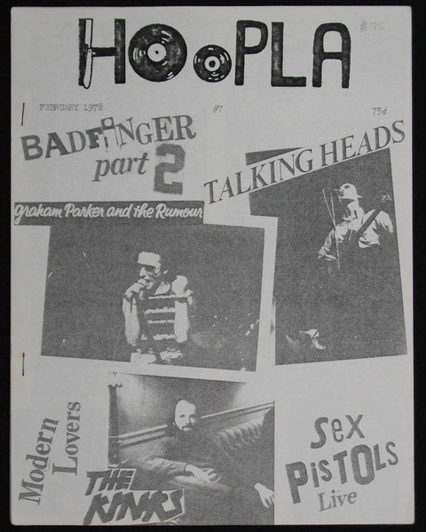 Hoopla #7 Feb 1978