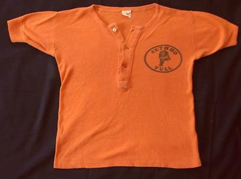 1971 Jethro Tull Aqualung promo shirt Joey