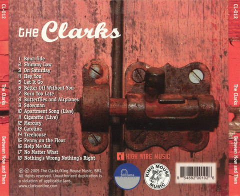 The Clarks Between Now and Then back
