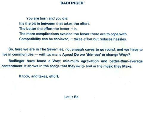 Badfinger Biography 2