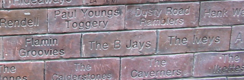Cavern Wall of Fame The Iveys The Calderstones
