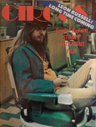 Circus Feb 1971 cover