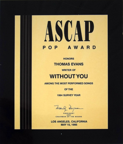 Without You ASCAP