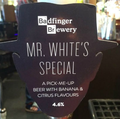 Badfinger Brewery - Mr White's Special