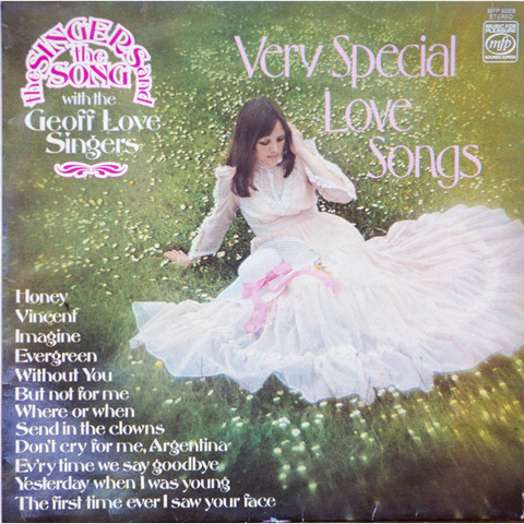 The Geoff Love Singers - Very Special Love Songs (LP1977)