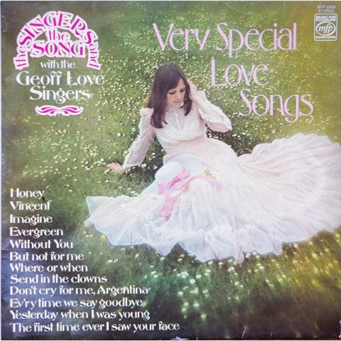 The Geoff Love Singers - Very Special Love Songs (LP1977)