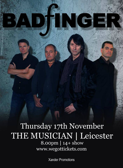 Badfinger - The Musician Leicester (Nov 17 2016)